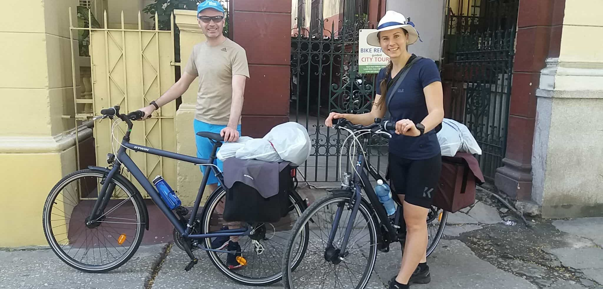 Renting a Bicycle in Havana to travel around Cuba