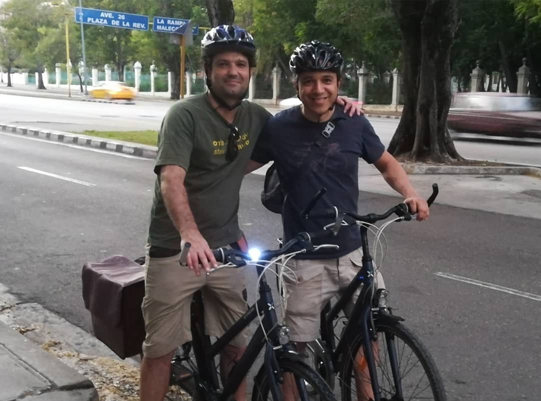paseo en bici por la ciudad